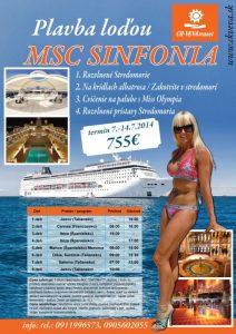 Plavba loďou SINFONIA