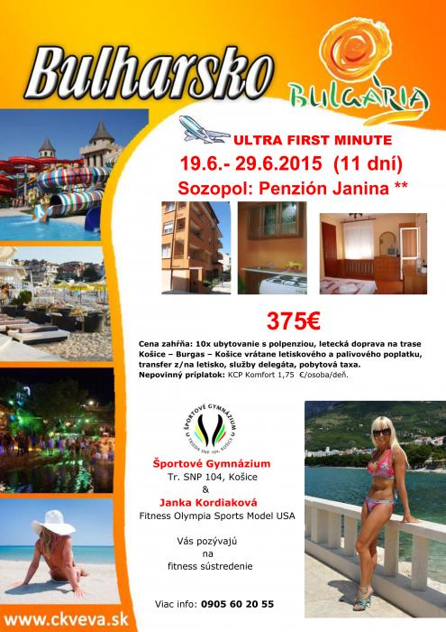 BULHÁRSKO - SOZOPOL penzión JANINA