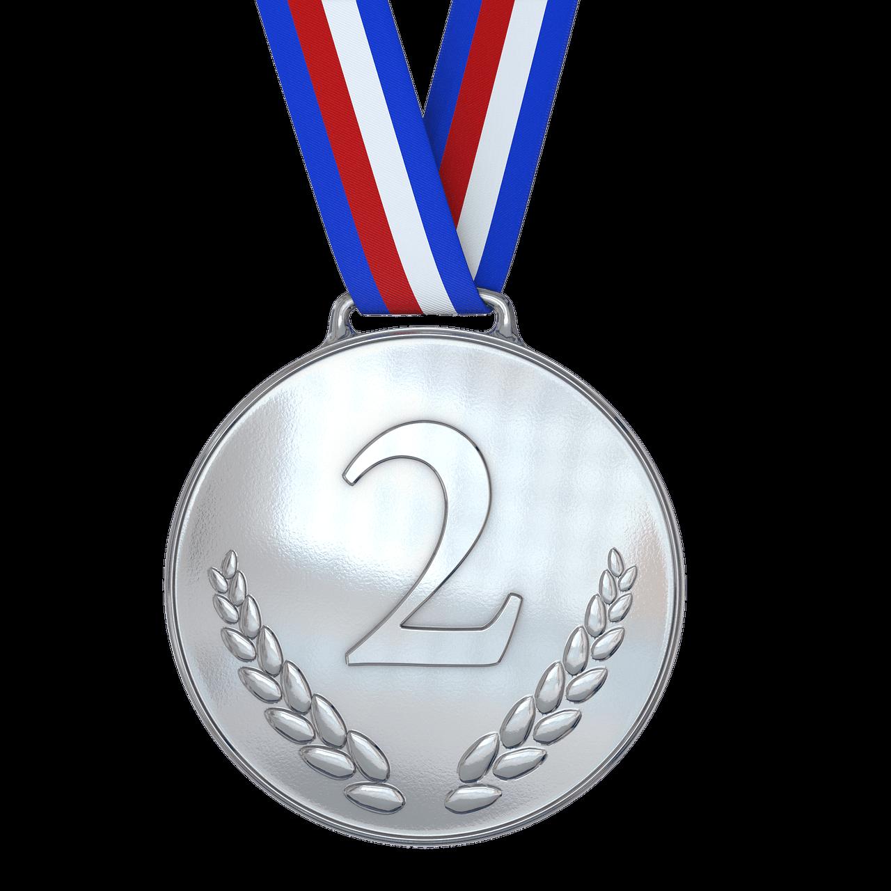 medal, silver, award